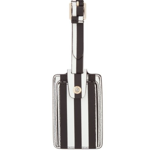 henri bendel Accessories - NWT Henri Bendel Iconic Stripe Luggage Tag